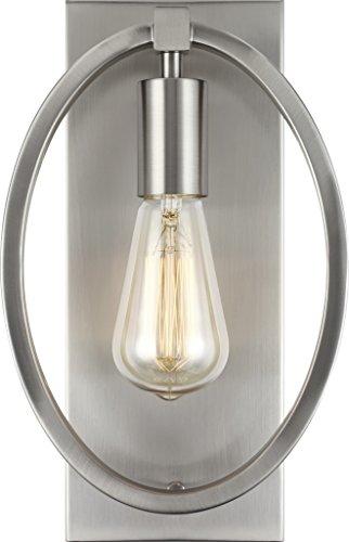 - Feiss WB1847SN Marlena Wall Sconce Lighting, Satin Nickel, 1-Light (8