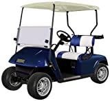 EZGO TXT Body and Cowl Golf Cart Package, Electric Blue, 48-Inch