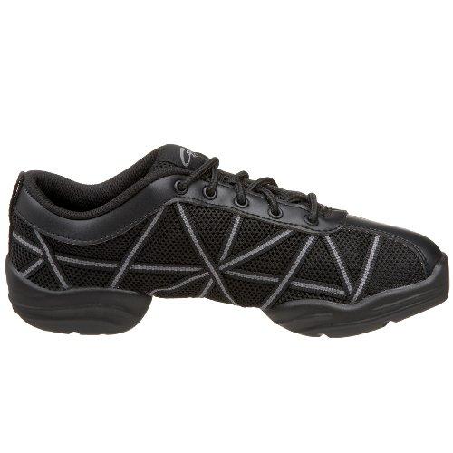 Black Black Negro Capezio mujer para Websneaker Capezio Patent Zapatillas x0UYRX4q