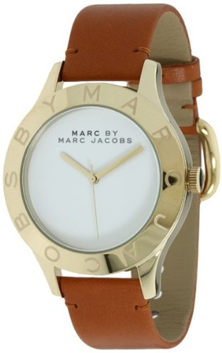Marc by Marc Jacobs Women's MBM1218 - Blade Tan/Gold One Size