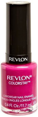 (REVLON Colorstay Nail Enamel, Rich Raspberry, 0.4 Fluid Ounce)