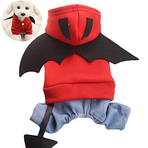 Casecover Batman Dog Pet Costume Batman Shirt with Wings Clothes for Dogs Pets Large Size ()