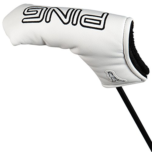Ping Golf 2014 Heel-Toe Putter Headcover NEW White (Ping Golf Headcovers)