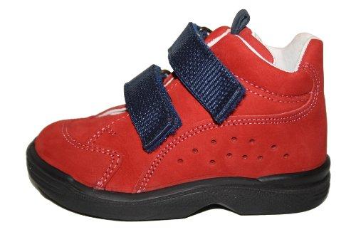Bundgaard BU-109 Unisex - Niños Zapatos Botines Rojo