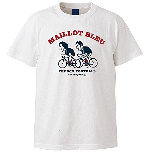 ホイスト技術者南アメリカclaudio pandiani(クラウディオ?パンディアーニ) Soccer Junky×JERRY Maillot bleu 半袖TEE SJ18325 ホワイト M