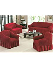 Sofas Cover set, Turkish model, 4 pieces, sofa Cover for three seater, sofa Cover for two seater and 2 chair cover