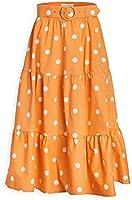 For Love & Lemons Women's Auburn Dot Midi Skirt
