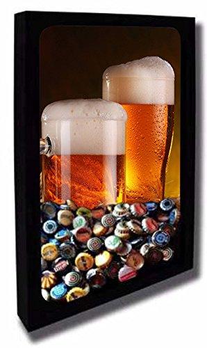 Quadro Porta Tampinhas de Cerveja 42cm X 55cm