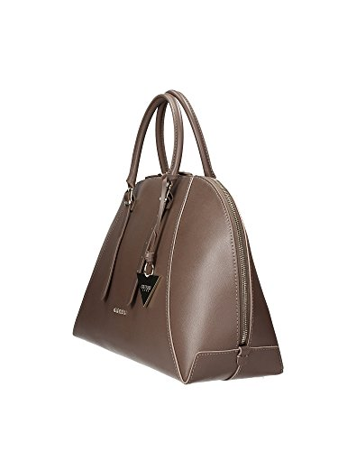 Guess - Sac Guess Lady Luxe en cuir ref_guess36065-taupe