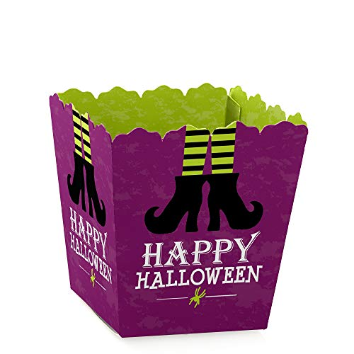 Happy Halloween - Party Mini Favor Boxes - Witch Party Treat Candy Boxes - Set of 12 ()