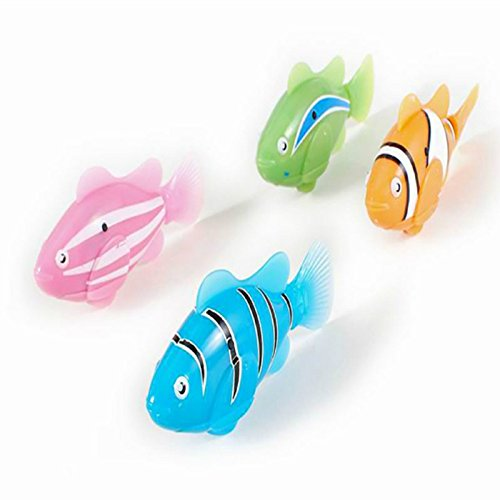 New robofish activated battery powered robo fish toy for Robo fish toy