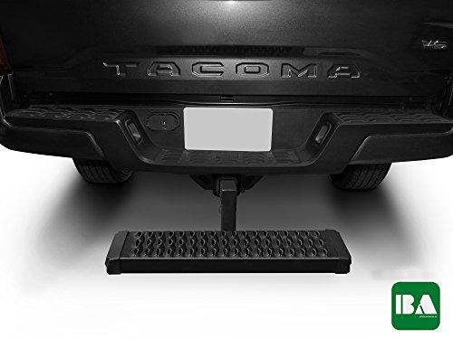 BETTER AUTOMOTIVE BAHTM-U02 Universal Aluminum Hitch Step Black For 2
