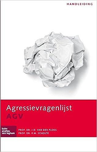 Agressievragenlijst (AGV): Handleiding: Amazon.es: J.D. van ...