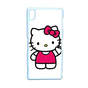 Generic Quilted Phone Case For Girl Print With Hello Kitty For Sony Z3 Choose Design 2