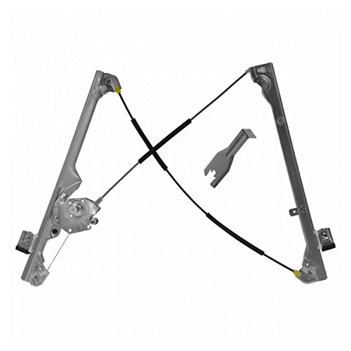 Manual Window Regulator w Tool Front LH Driver Side for GMC Chevy Pickup Truck -