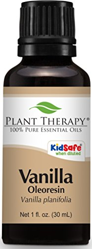 Plant Therapy Vanilla Oleoresin. 100% Pure, Undiluted, Therapeutic Grade. 10 Fold Extraction. 30 mL (1 Ounce).