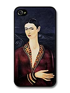 Frida Kahlo's Self Portrait in a Velvet Dress painting For Samsung Galaxy S5 Mini Case Cover