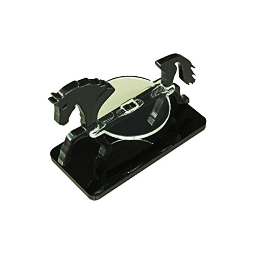 LITKO Horse Character Mount with 25x50mm Base, Black