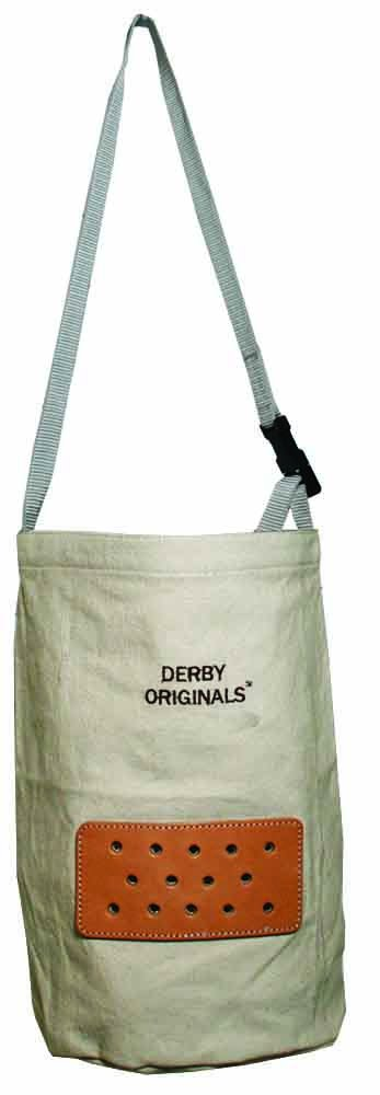 Derby Originals Heavy Duck Canvas Feed Bags in Draft, Off White