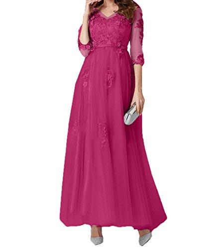 La 2018 Pink Linie Spitze mia Promkleider Abendkleider Braut Knoechellang Ballkleider Brautmutterkleider A Tuell rqAprRx