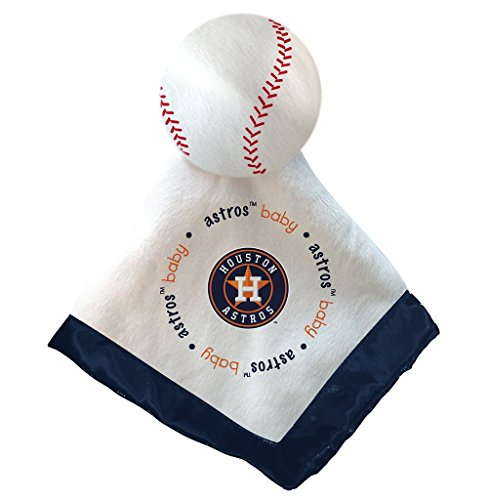 Houston Astros Blue Baby Security Snuggle Bear Blanket - 14
