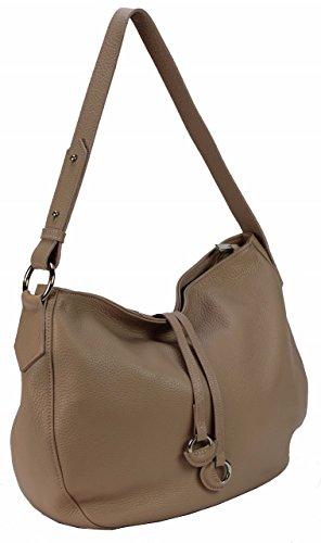 366df3675928c ... Bozana Bag Ida Rose Powder Italy Designer Damen Handtasche  Schultertasche Ledertasche Tasche Wildleder Prägung Shopper Neu ...