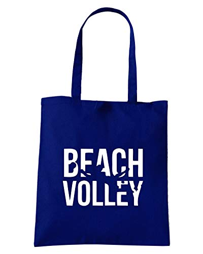 Borsa VOLLEY Shopper SP0038 Navy Blu BEACH OrA0OCZ
