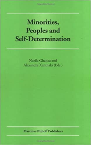minorities peoples and self determination essays in honour of  minorities peoples and self determination essays in honour of patrick thornberry