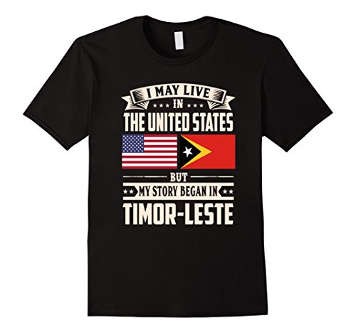 Timor Leste lovers in usa shirt