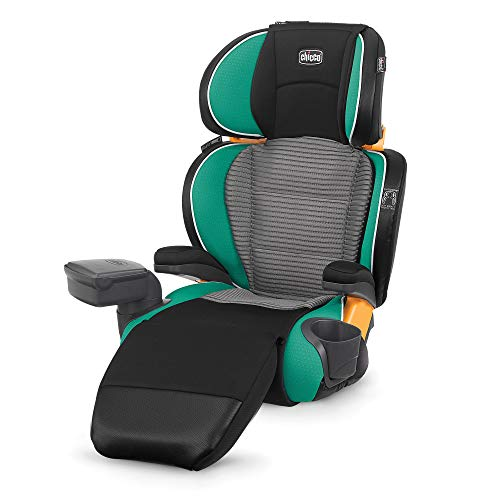 Chicco KidFit Zip Air 2-in-1 Belt-Positioning Booster Car Seat, Surf