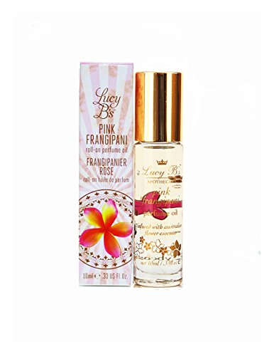 (Pink Frangipani Perfume Oil Roll On 10 ml by Lucy B's)
