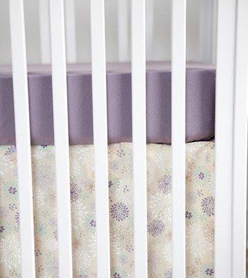 Finn + Emma Flower Crib Set without Bumpers-Girl