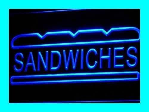 Jintora - Neon Sign -Insegna al Neon - Sandwiches - panini - Festa, Discoteca, Club, bistrot, Sala Feste, Finestra