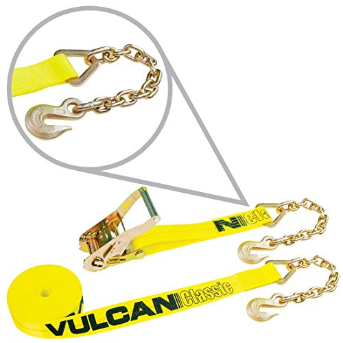 Ratchet Strap w/ Chain Anchors - 2
