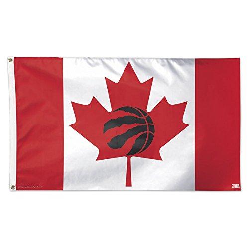 Toronto Raptors Canada 3x5 Flag NBA Logo Banner by WinCraft