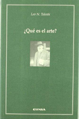 Descargar Libro ¿qué Es El Arte? Lev Nikolaevich Tolstoï