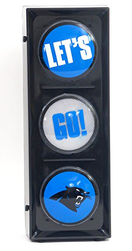 - New Island 98 Carolina Panthers Flashing Let's go Light sequential Flashing Electric Light, Free Stand or Wall mountable, Size 5.88