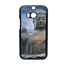Generic Rigid Plastic For One M8 Htc Phone Case For Womon Fine Print Buddha