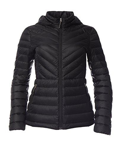 32 Degrees Women's Plus Size Packable Down Jacket, Black , (Apparel Down Jackets)