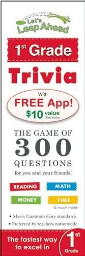 Read Online Let's Leap Ahead 1st Grade Trivia Notepad: The Game of 300 Questions for you and your friends! ebook