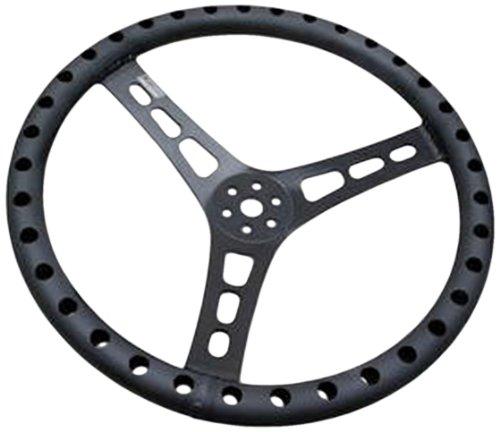 """Joes Racing 13515-B 15"""" Black Aluminum Steering Wheel"""
