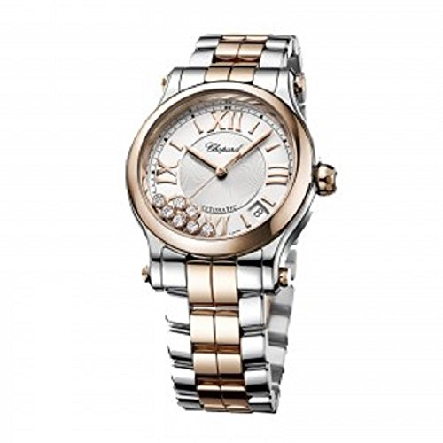 Chopard-Happy-Sport-18K-Rose-Gold-Two-Tone-Automatic-Watch-278573-6002