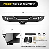 Nilight - JK-52A Rear Bumper Compatible for