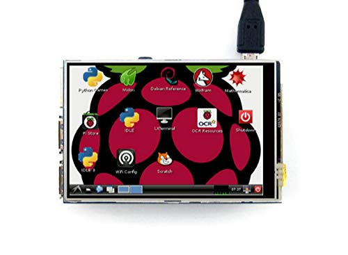 Original 3.5 LCD TFT Touch Screen Display for Raspberry Pi 3 Model B Board Stylus Acrylic Case