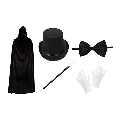 Adult Magician Fancy Dress Costume Set by Robelli (Fancy Dress Magician)
