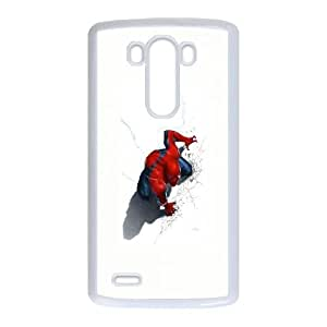 LG G3 Cell Phone Case White_Spiderman Comic Cover TR2303357
