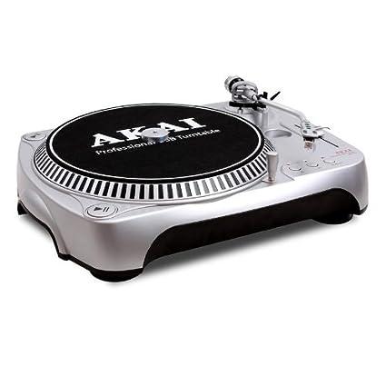 Tocadiscos DJ-USB Akai ATT002 - digitalización MP3: Amazon.es ...