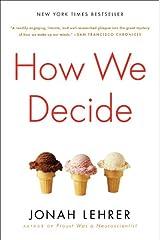 How We Decide Paperback