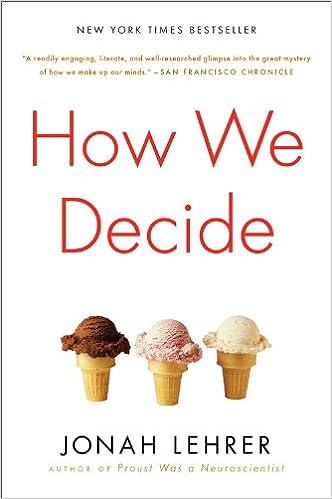 bibliophilia read more books How We Decide