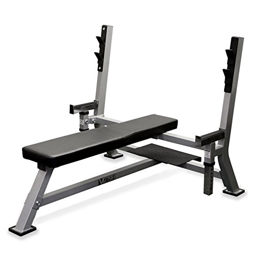 Valor Fitness BF-48 Olympic Bench Station with Adjustable Safety Catches and Spotter Stand – DiZiSports Store